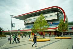 Berlin, Germany (Mark Waldron) Tags: berlin germany marzahn shopping centre eastgate building