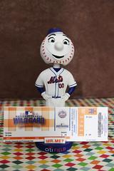 It's a Date! (ShellyS) Tags: mets mrmet bobbleheads tickets baseball wildcard