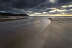 Where the River meets the Sea (Lauri Leesmaa) Tags: 6d 1740mm lee nd 09 river sea seascape beach sunset sand väänajõesuu estonia