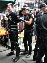 Folsom Berlin 2009 - 4009 (blacknshiny) Tags: leatherman folsom leatherjeans fullleather leather