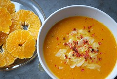 Orange and Carrot Soup II (caprilemon) Tags: winter food orange recipe pepper soup salt cream carrot carota mhre karotte vegetablestock coconutflakes winterfood redpeppercorns
