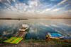 Boats of Izmir (Nejdet Duzen) Tags: trip travel sea reflection nature turkey boat cloudy türkiye deniz sandal izmir turkei seyahat doğa bostanlı bulutlu mavişehir