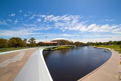 Footbridge over Torrens (Michal Rosa) Tags: adelaide southaustralia rivertorrens