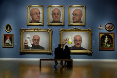 Five Paintings (Leo Reynolds) Tags: webthing photofunia xleol30x xxx2014xxx