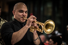 Irvin Mayfield's 37th Birthday Party, New Orleans Jazz Market, Sunday, December 21, 2014
