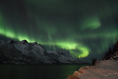 Northern Lights at Esfjordbotn (Kingsley's Ministry) Tags: