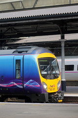 185 101 1F72 1608 Newcastle - Liverpool Lime Street waits departure time at Newcastle (1555) Wednesday 16th July 2014 (Colin.P.Brooks Railway Photography & Frinton) Tags: siemens tpe newcaslte diesellocomotive firstgroup desiro transpennineexpress class185 dmudieselmultipleunit wednesday16thjuly2014