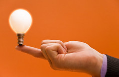 Bright idea (conoro_brien) Tags: light orange inspiration color lightbulb electric businessman bulb creativity idea holding energy colorful hand bright finger illuminated business suit intelligence thinking electricity imagination glowing solutions concept copyspace innovation enlightenment electrical success shining balancing clever invention aspirations businessperson thewayforward