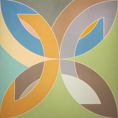 Frank Stella, Flin Flon IV, 1969 (Sharon Mollerus) Tags: sanfrancisco california unitedstates fc c14 nss deyoungmuseumofart modernismfromthenationalgalleryofartmeyerhoffexhibit 20140927img6926cstellaflinfloniv1969jpg