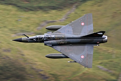 FAF Dassault Mirage 2000 low level at Thirlmere (WartonGR4) Tags: lake french flying 2000 force district air low jet level cumbria mirage dassault faf thirlmere