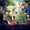 Planting a #Cedar Tree at #UNIFIL in remembrance of #Lebanon Martyrs & Independence #YoussefSfeir