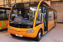 Euro Bus Expo November 4th 2014 (6228 Leeds) Tags: solo nec 2014 demonstrator optare eurobusexpo