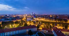 Vilnius modern skyline, Lithuania