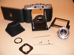 Agfa Isolette III (rainer.marx) Tags: 6x6 film analog vintage medium falter agfa rollfilm isolette bellow mittelformat balgen