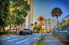 (Maria Camila Rodriguez Pardo) Tags: street sign photoshop traffic photomatixpro singleexposurehdr topazadjust topazdenoise captainkimo