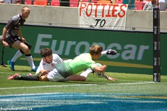 Sevens second day tries