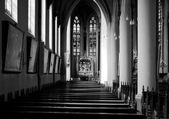 Sint Georgiusbasiliek, Almelo (dorisdaedalus) Tags: bw church sint kerk almelo basiliek georgius georgiusbasiliek