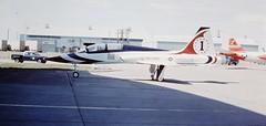 "Northrop T-38A Talon ""Thunderbird One"" (Sentinel28a1) Tags: greatfalls talon thunderbirds t38 northrop malmstromafb"
