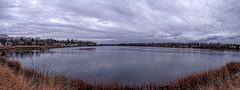 Barrington Panorama (brev99) Tags: panorama water clouds docks cloudy gray rhodeisland photomerge barrington colorefex niksoftware tonalcontrast ononesoftware procontrast topazdetail sigma1770os photoshopelements12 perfecteffects9