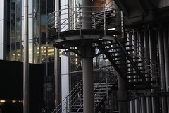 (heatherelawrence) Tags: building architecture stairs steel line lloyds lloydsbuilding