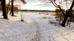 Hanikka swimming place in December (Espoo, 20141231) (RainoL) Tags: winter sea snow espoo finland geotagged december balticsea u fin seashore 2014 uusimaa nyland esbo hanikka 201412 20141231 geo:lat=6012837817 geo:lon=2469223380