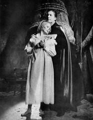 Christopher Lee in Dracula Has Risen from the Grave (1968) (Tom Simpson) Tags: film church hammer vintage bell dracula horror 1968 christopherlee hammerhorror draculahasrisenfromthegrave