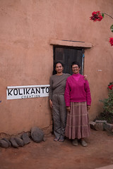 Bakoli and Margaret of Kolikanto Creation