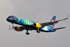 """TF-FIU """"HEKLA AURORA"""" (airlines470) Tags: aurora msn 757 cdg hekla 603 ln icelandair 757200 26243 tffiu 757256 ecfyk ec609"""