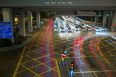 DAY 29 - LIGHT GRAFFITI (thedayafter365) Tags: city lightpainting hongkong slowshutter project365 thedayafter365