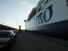 Christmas Day on the P&O Pride of Burgundy at Dover Harbour (Paul @ Doverpast.co.uk) Tags: christmas ferry port docks coast dock day ship harbour burgundy ships pride coastal po ferries dover