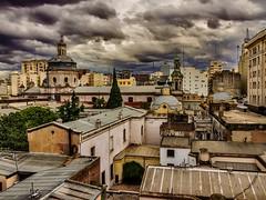 Monserrat II (celta4) Tags: city argentina clouds edificios buenosaires churches ciudad nubes iglesias bildings