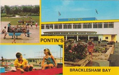 Pontins Bracklesham Bay Holiday Camp (trainsandstuff) Tags: vintage sussex retro postcards archival brackleshambay pontins holidaycamp fredpontin