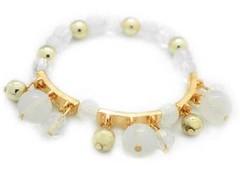5th Avenue White Bracelet P9409-3