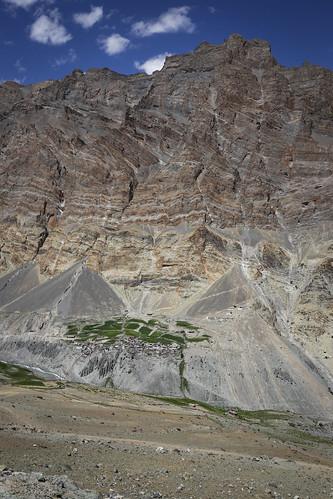 Das Dorf Photoksar in Ladakh