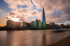 Tower Bridge and the Shard (Botond Buzas Photography) Tags: uk bridge london tower landscapes nikon long exposure tamron shard d7000