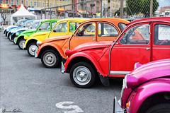 Rainbow (kevrinus) Tags: car port french nice rainbow voiture 2cv extrieur arcenciel