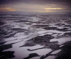 Ice (Fake Truth) Tags: bridge sunset ice water train canon river evening a510 volga  ulyanovsk           utc0    gpssetmanually 0may202016181810utc 1june52016081000utcsetonjune520161115utcplus3 originaltimezoneutc5
