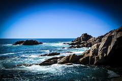DSC_0061 (FlipperOo) Tags: voyage sea mer france color st rock port de nikon pierre vagues plage morbihan blanc roche arche quiberon instagramapp