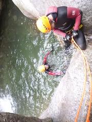 P1120380 (Mountain Sports Alpinschule) Tags: blue mountain sports lagoon canyoning zillertal zemmschlucht alpinschule