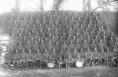 Reinforcements for the 27th Battalion, Mitcham Camp, c1917 (State Library of South Australia) Tags: wwi worldwari worldwarone soldiers aif 27thbattalion 27thinfantrybattalion mitchamcamp