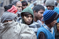 INDIA7744/  the Dalits (Glenn Losack, M.D.) Tags: charity food india portraits feeding delhi homeless photojournalism impoverished lower handicapped deformed millions beggars caste untouchables streetphotographer glennlosack dahlits
