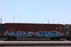 05312016 055 (CONSTRUCTIVE DESTRUCTION) Tags: train graffiti streak tag boxcar graff piece pagan dever moniker