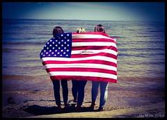 Huntingtown High School Class of 2016  (megmcabee) Tags: beach america flag brownies seniors