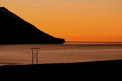 Fallegt slarlag! (Helga Haraldsdttir) Tags: iceland colorful minimalism atlanticocean sland sjr eyjafjrur slarlag fjall mountein norurland litrk atlandshaf helgaharalds helgahar