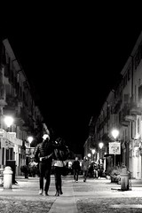 Just love. (elisabettaurso) Tags: street light love night torino hug couple streetphotography passion turin amore coppia venaria