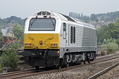 67012 at Bath Spa (Railpics_online) Tags: 67012 bath class67 diesel loco locomotive chiltern