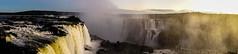 The golden Iguacu Panorama (*Capture the Moment*) Tags: trees sunset brazil sun mist fog sonnenuntergang brasilien jungle waterfalls sonne bäume goldenhour wetter iguacu landschaften urwald 2016 fozdeiguazu wasserfälle goldenestunde wassernebel sonynex7 sonye18200mmoss
