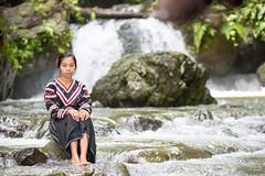 Liza (Graham Savage Photography) Tags: lake girl pose waterfall sebu kini tboli tdaan