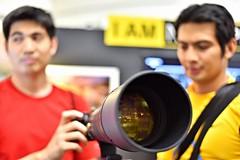 toys for the big boys (DOLCEVITALUX) Tags: lens nikon philippines manila photoconvention nikond750 nikonlens400mmf28