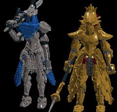 Knight Artorias, Dragonslayer Ornstein (---//?//---) Tags: souls dark lego moc ldd ornstein artorias